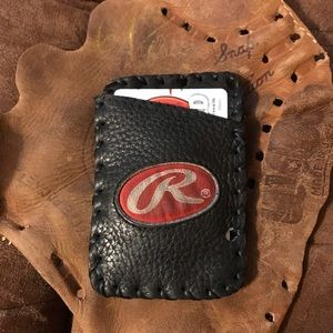 Rawlings Handmade Leather Wallet Baseball Glove c34da6c568eeb